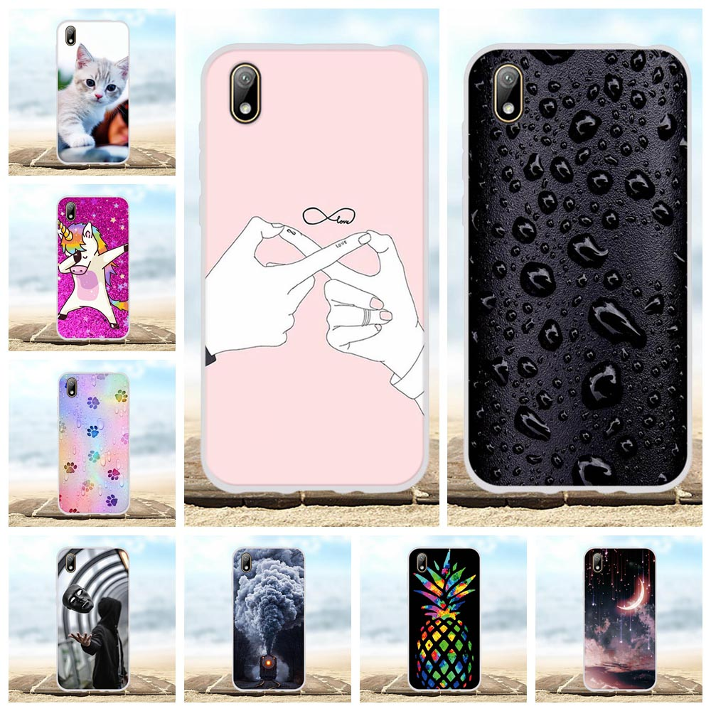 For Huawei Y5 2019 AMN-LX9 AMN-LX1 Case Soft TPU Silicone For Huawei Honor 8S KSE-LX9 Cover Scenery Patterned For Honor 8S Coque