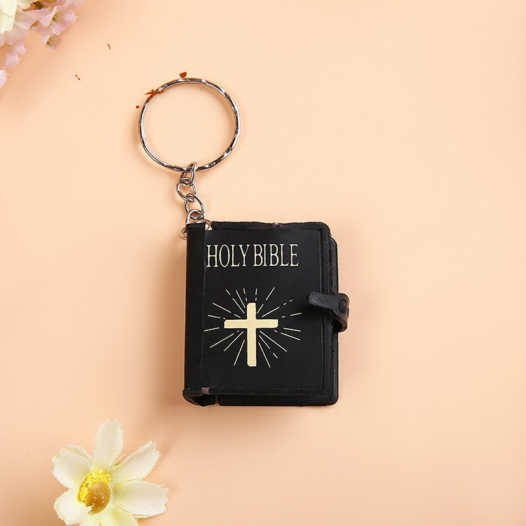 Christian Keychain Bible Charm Wholesale christian decor in Wall Crosses from Home Garden