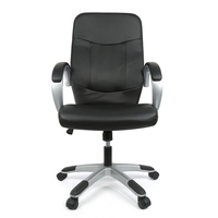 JEOBEST Office Stools Lift Chairs Swivel PU Leather High Back Office Chair With Armrests Boss Chairs