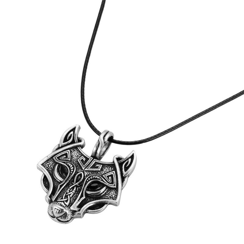 pewter norse wolf macht pendant museumreplicascom - 800×800