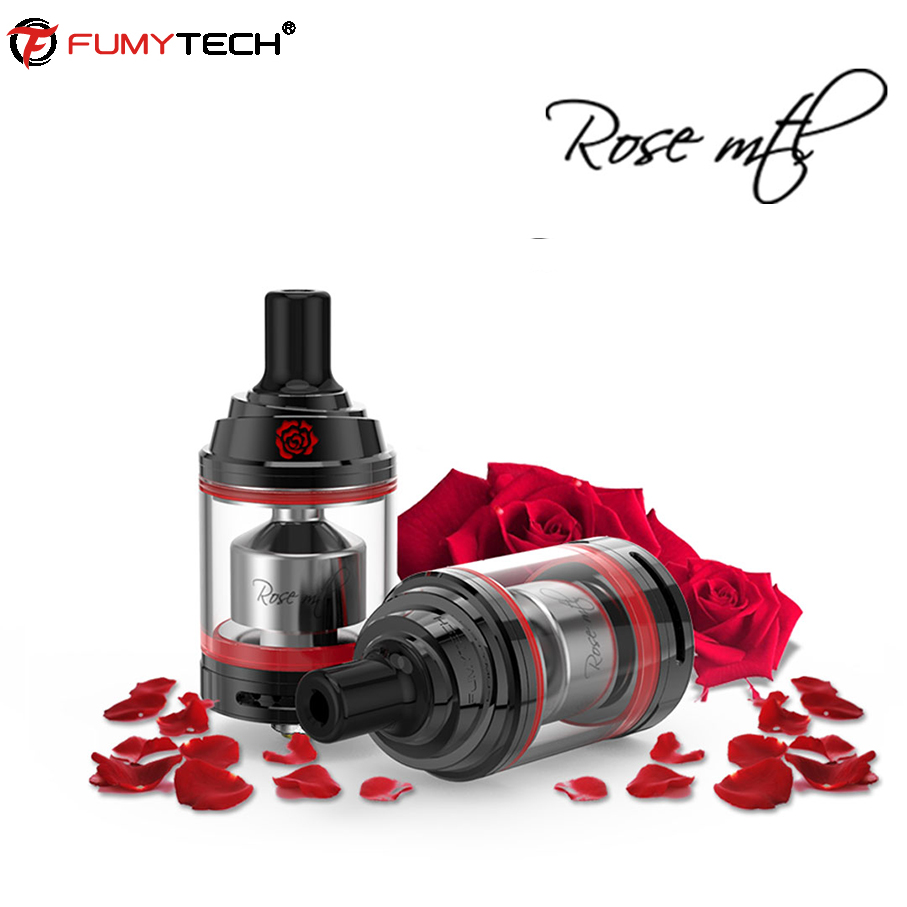 Original Fumytech Rose MTL RTA Atomizer Tank 3.5ml with POM Drip Tip Diameter 24mm electronic cigarrate vs Siren v2 GTA mtl