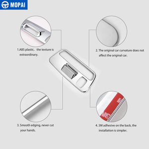 Image 5 - MOPAI ABS Car Interior Roof Reading Light Lamp Decoration Cover Stickers for Chevrolet Camaro 2017 Up Car Accessories Styling