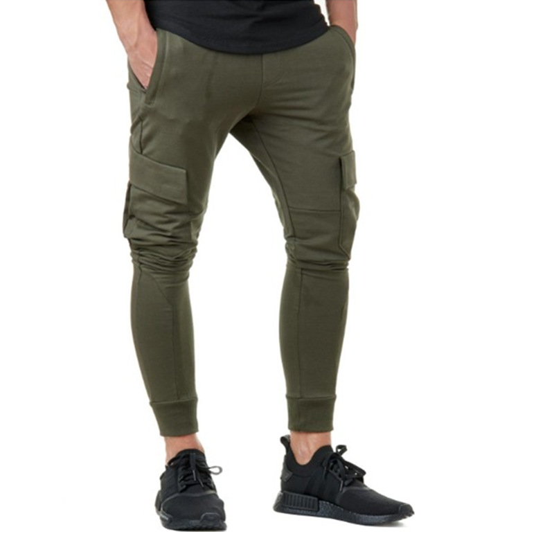 Jogger Sweatpants Trousers Fitness Brand-Clothing Cotton New Embroidery Gyms Body-Boulding