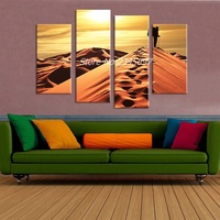 No Framed Sand Dunes On The Traveler Wall Painting Print On Canvas For Home Decor Ideas