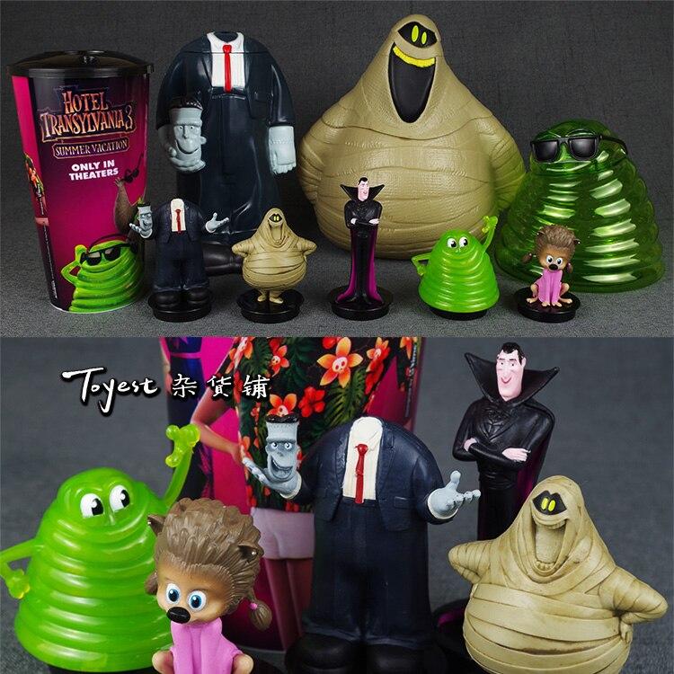 Haute qualité Hôtel Transylvanie figurine gobelet/collectionner modèle film ver seau à pop-corn