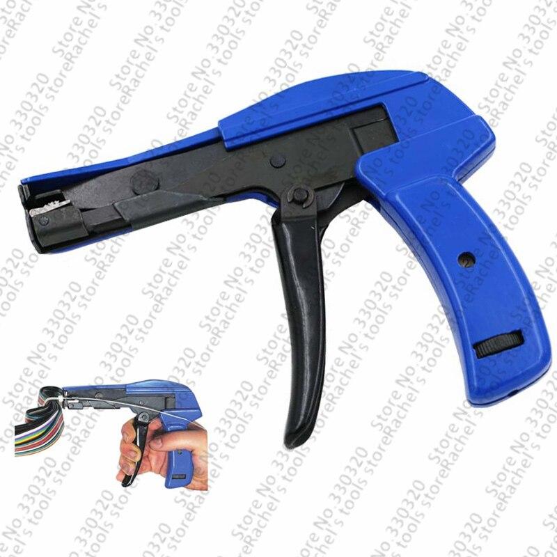 Zangen Kabelbinder Werkzeug Befestigungs & Schneiden Funktion Kabelbinder Pistole 2,4-4,8mm Werkzeuge