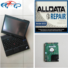 Installed well 2017 alldata and mitchell software v10.53 newest 2in1 in x201t tablet (4g ram, i7 cpu) auto repair software