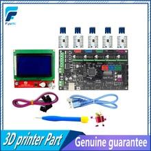 Gen V1.4 3D printer kit with Gen V1.4 board +TMC2100 /TMC2130/TMC2208/DRV8825/A4988+12864 Graphic LCD