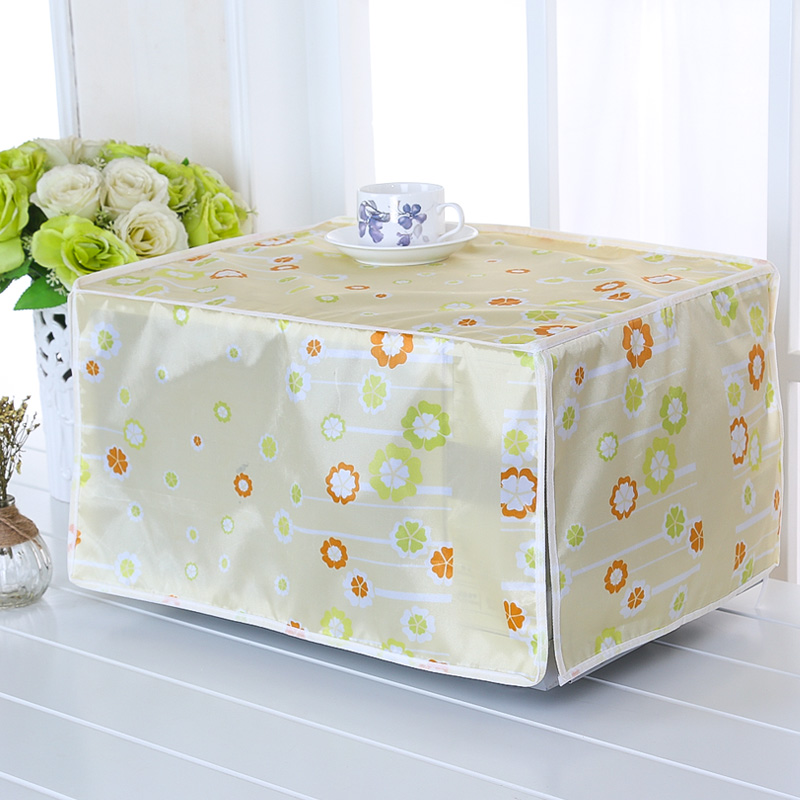 SRYSJS  Protective Covers For Microwave Oven Waterproof Dustproof Oven Cover Kitchen Home Decor Cover Cloth 4