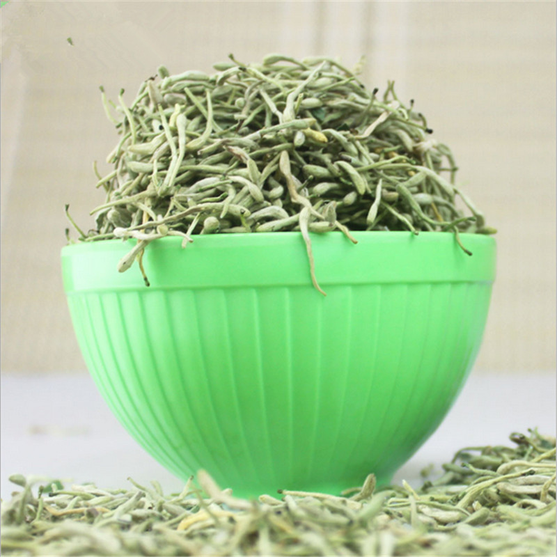 2016 New Top Grade Honeysuckle Tea Clearing Heat Lose Weight Popular Flower Health Care Chinese Organic Food new Herbal
