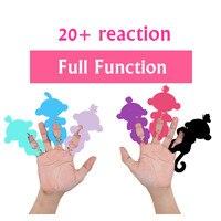 2017 Vinger Aap Rose Interactieve Baby Huisdier Intelligente Speelgoed Tip Aap Cub Smart Elektronische Huisdier vinger baby aap