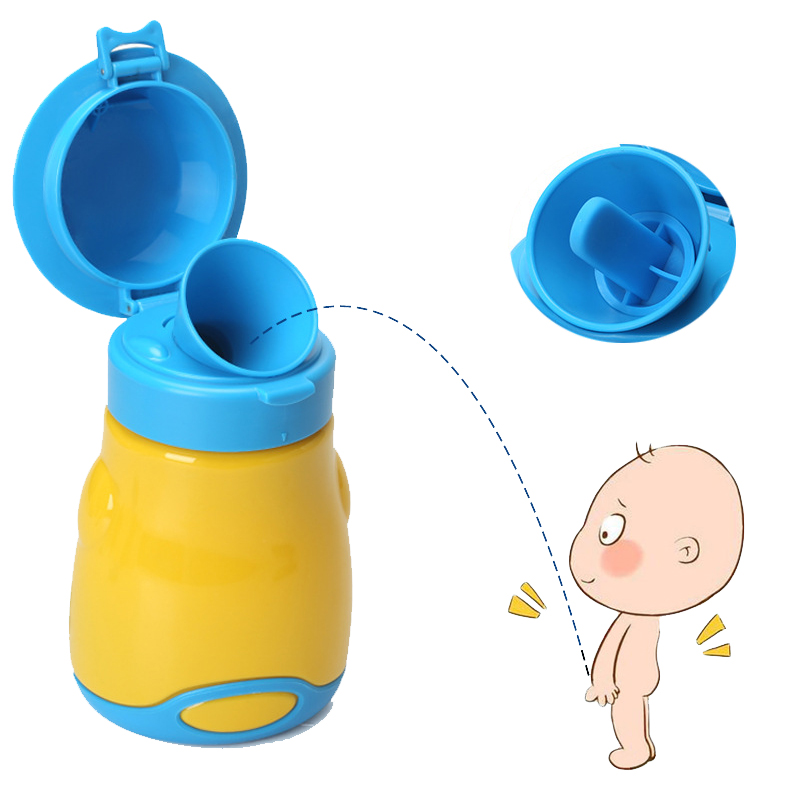 Baby Toilet Car Urinal Leakage-proof Childrens Pot Baby Urinal Training Girl Boy Child Potty Travel Portable Kids Toilet Seat