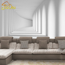 Mejoras para el hogar personalizado 3d foto passway wallpaper abstracto moderno arte mural salón sofá de fondo papeles de la pared decoración para el hogar