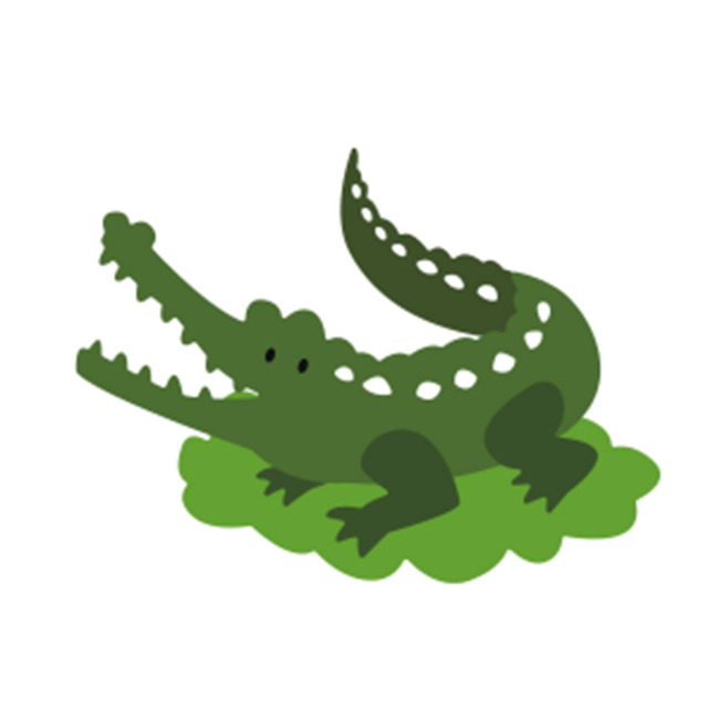 Cool design crocodile customized metal cutting dies stencil for diy scrapbooking photo album decor embossing