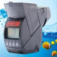 Ehan dual slot automatic fish feeder aquarium fish tank automatic feeder and timer pet feeding distributor liquid crystal displa