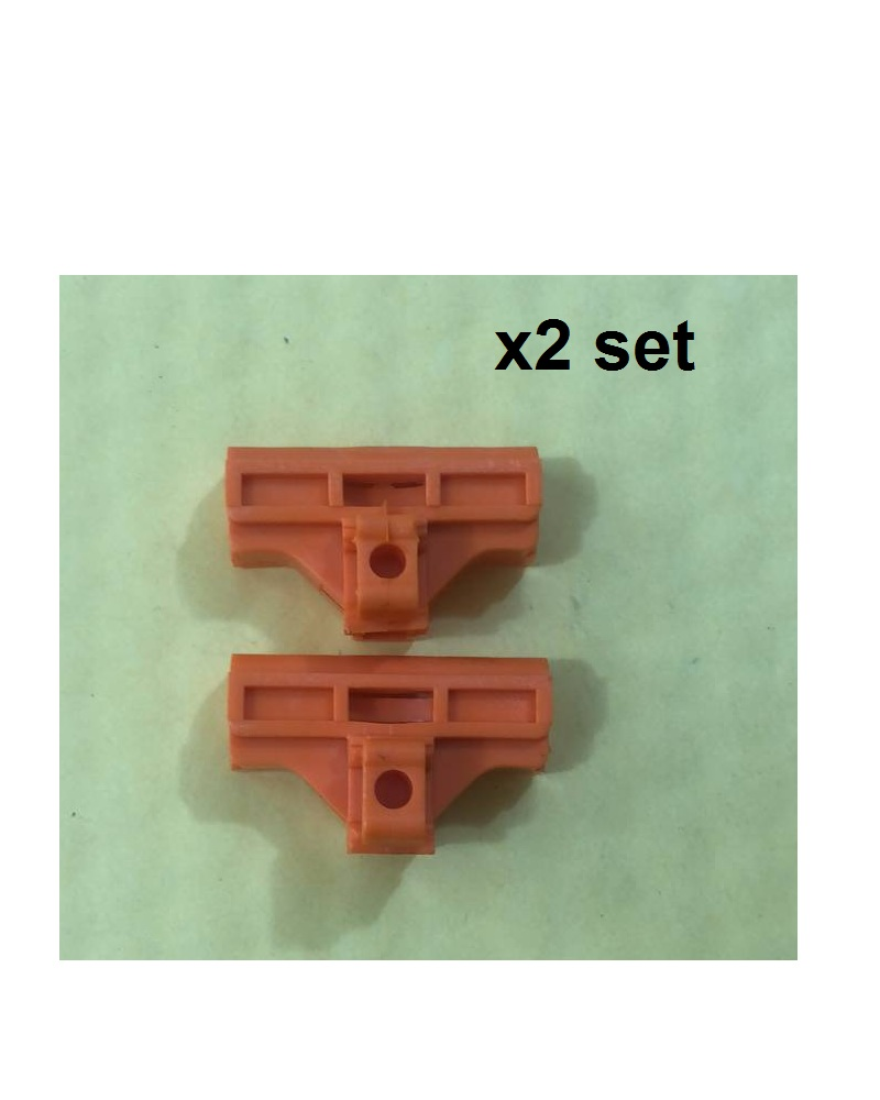 X2 Set(4 Pcs) Clips Window Regulator Repair Kit For VW LUPO POLO 6N For Seat Arosa Ibiza Cordoba For Ford Front Right/Left