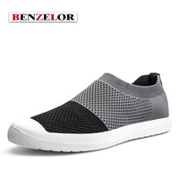BENZELOR High Quality Chaussure Homme Popular Fly Weaving Cloth Fashion Casual Brand Spring Summer Breathable Men