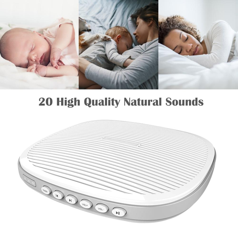 Music Sleeper White Noise Sleep Aid Instrument Built-in 20 Sleep Music Sound Therapy Spa Relaxation Soothing Sleep InstrumentMusic Sleeper White Noise Sleep Aid Instrument Built-in 20 Sleep Music Sound Therapy Spa Relaxation Soothing Sleep Instrument