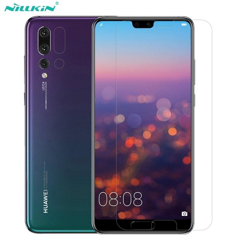 Huawei P20 Pro Displayschutzfolie NILLKIN Erstaunlich H + PRO 2.5D Rand 9 H Anti-Explosion Gehärtetes Glas Für Huawei P20 Pro Glas Film