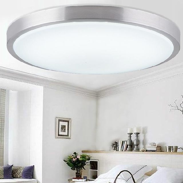 New Modern Acrylic Lampshade Surface Mounted Led Ceiling Lights Fixtures  For Living Room Ceiling Lamp Kitchen