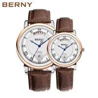 Berny Quartz Lover Watches Fashion Top Luxury Brand Relogio Saat Montre Horloge Masculino Erkek Hombre Couple Watches