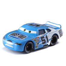 Disney Pixar Cars 2 3 No.51 Racing Car Lightning McQueen Jackson Storm Cruz Mater 1:55 Diecast Metal Alloy Model Toy Gifts