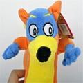 "Fashion cute 8"" Tall Dora The Explorer Swiper Stuffed Doll Fox Toy plush doll toy one pieces"