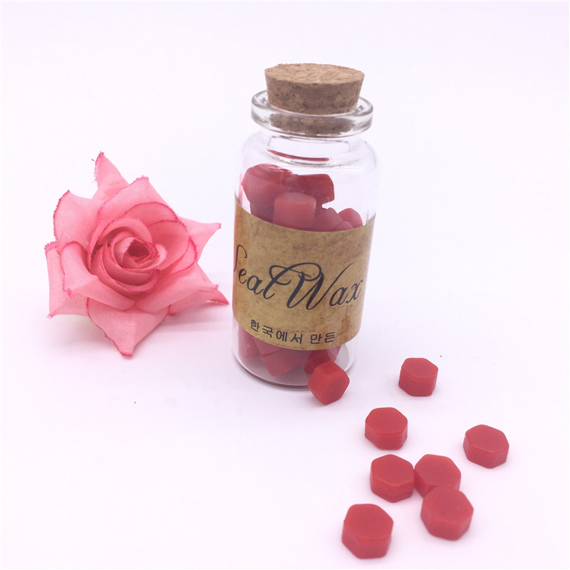 DIY Sealing Wax Stamp Use Sealing Wax Particles Tablets In Bottle for Manuscript Wedding Invitation Seal Wax Tablets coelho p manuscript found in accra