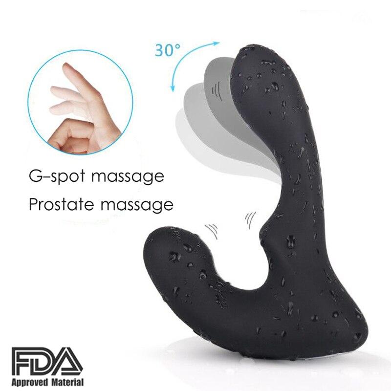 New 9 SpeedsG spot Vibration Silicone Butt Plug dildo Vibrator Dig Prostate Massager Anal Sex Toys