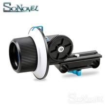 Точная Фокусировка фоллоу-Фокус F1 с зубчатым кольцом для объектива Canon Nikon sony DSLR камеры и видеокамеры для 15 мм штанги