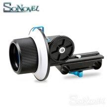 정확한 초점 맞추기 F1 기어 링 벨트 캐논 니콘 소니 렌즈 DSLR 카메라 캠코더 15mm로드 리그