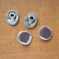 Antique Silver Clasp For 4mm Leather Clasp leather Findings