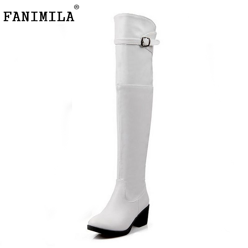 women over knee boots ladies riding fashion long snow boot warm winter brand botas high heel footwear shoes P19284 size 34-40 size 30 44 women flat over knee boots ladies riding fashion long snow boot warm winter brand botas footwear shoes p10263
