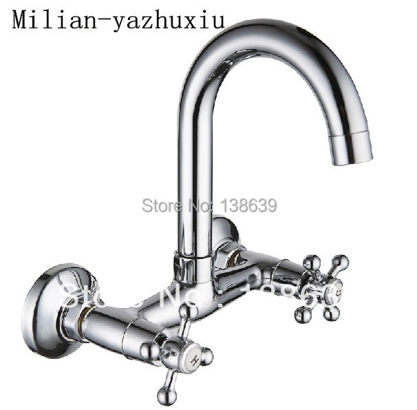 Aliexpress Com Buy Wholesale Wall Mounted Kitchen Faucet
