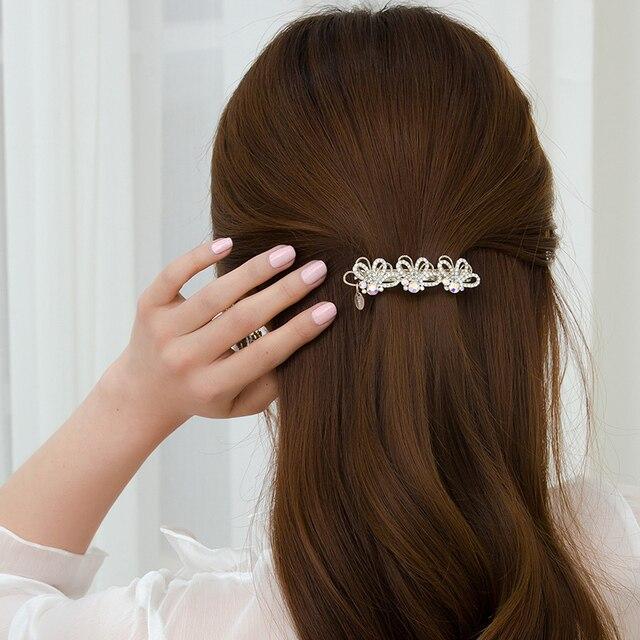 Шикарные заколки для волос chimera с цветами металлическая заколка