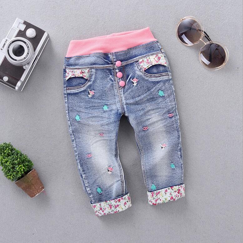 New-Arrival-Baby-Girls-Fashion-Denim-Jeans-Girls-Floral-Belt-Skinny-Jeans-Kids-Spring-Autumn-Jeans-Child-Long-Pants-3