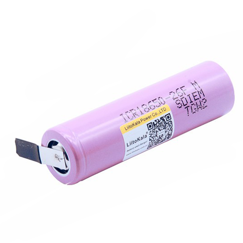 Image 3 - New LiitoKala original 18650 3.7V 2600mah rechargeable battery for battery  ICR18650   26FM industrial use of nickel-in Rechargeable Batteries from Consumer Electronics