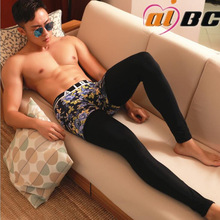 New AIBC mens long johns cotton legging autumn and winter thermal underwear Long Johns 4 colors