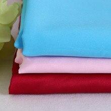 Spring and Summer Clothing Libuya Light Elastic Satin Cloth Polyester Spandex Fabric Dress Halter Shirt Textile Material