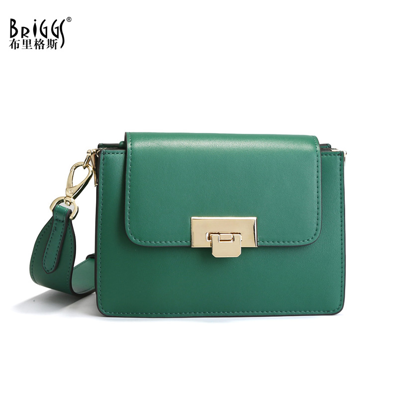 BRIGGS Genuine Leather Luxury Handbag Small Women Bag Designer Famous Brand Female Shoulder Bags Cow Leather Women Messenger Bag jacobs j english fairy tales