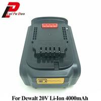 18V/20V Li Ion 4.0Ah Replacement Power Tool Battery for DEWALT DCB182,DCB183,DCB200,DCB204