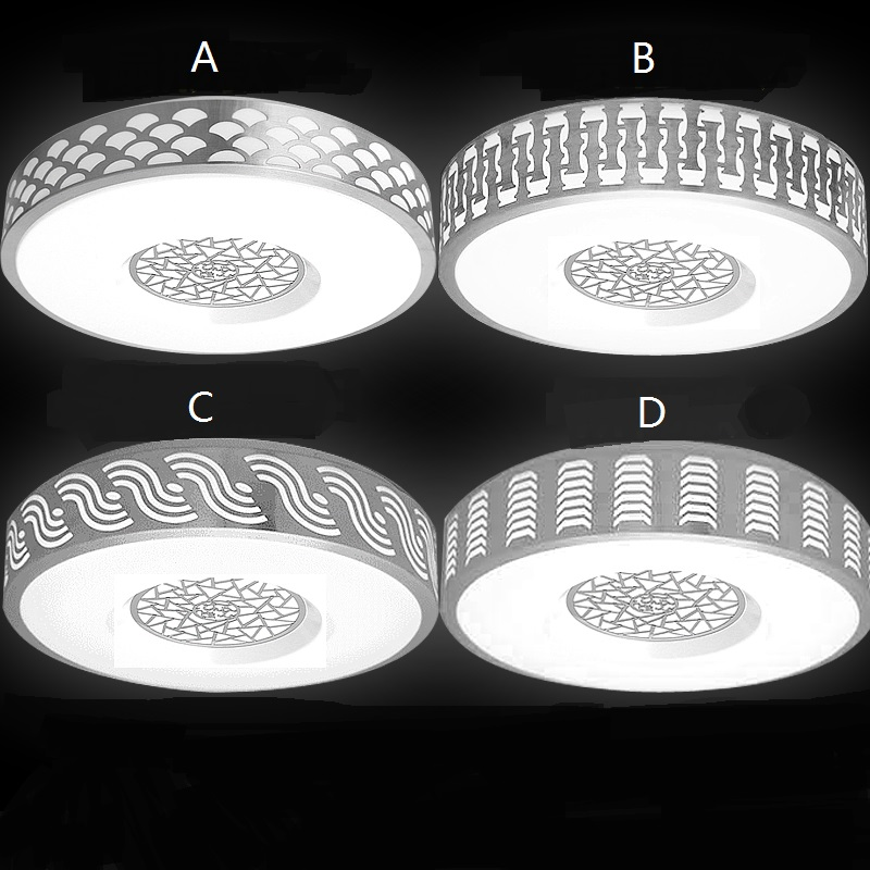 Led ceiling lamp round modern simple living room dining lamp indoor lamp Ceiling Lights FG74 modern led ceiling lamp aisle simple living room porch balcony study room long lamp