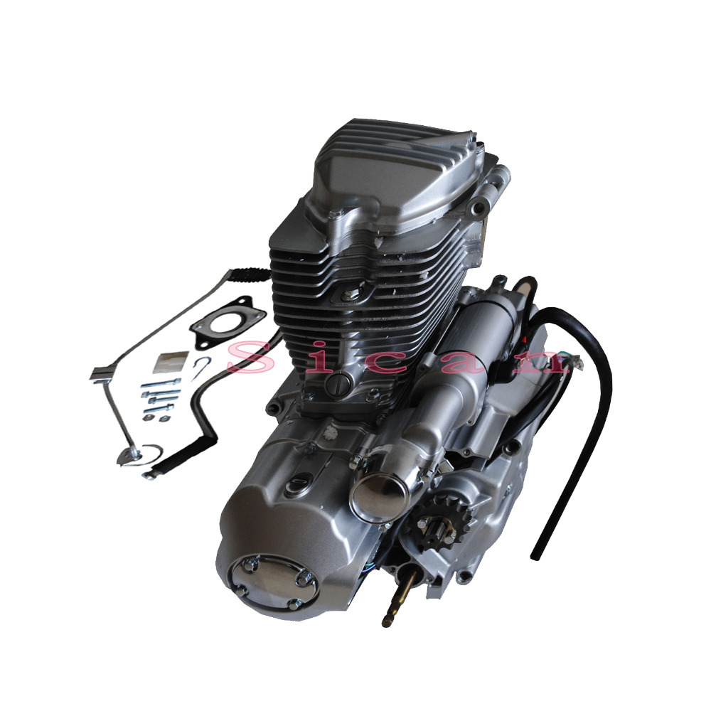 200cc Electric Start Scooter Atv Motorcycle Bike Engine