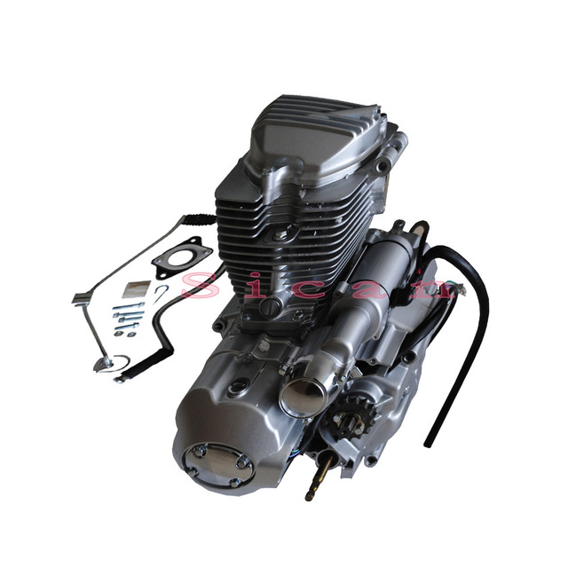 200cc Electric Start Scooter Atv Motorcycle Bike Engine Motor