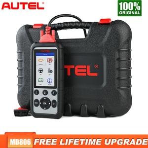 Image 1 - Autel MD806 Obd2 Scanner Diagnostic Auto Tool Car Diagnostic Four System Diagnoses EPB/Oil Reset/BMS DPF Batter Than MD805 MD802