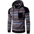 2017 Hoodies Mens Hombre Hip Hop Male Brand Hoodie Pattern Printing Pocket Sweatshirt Suit Men Slim Fit Men Hoody XXL MHVR