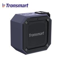 Tronsmart 요소 그루브 휴대용 블루투스 스피커 IPX7 방수 우수한 저음 24 시간 재생 시간 야외 미니 라디오