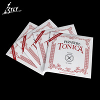 Hot Sale Pirastro Tonica Violin String 4 Pcs Set A E G D Nylon Violin Strings