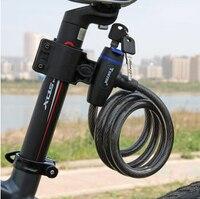 2016 Outdoor Safe Steel Bike Chain Lock Small MTB Bicycle Lock Bike Mountain Fixed Anti Theft