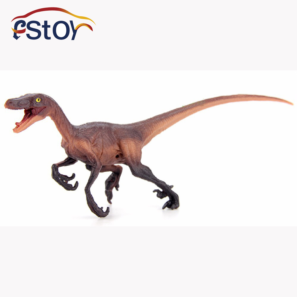 Velociraptor dinosaur toys Action Figures Model Wild Animal PVC palaeobios plastic Boys Collections Toy Figure Children Gift 10pcs bag toy bag small pet shop figures toys animal cat dog patrulla canina action figures kids toys gift
